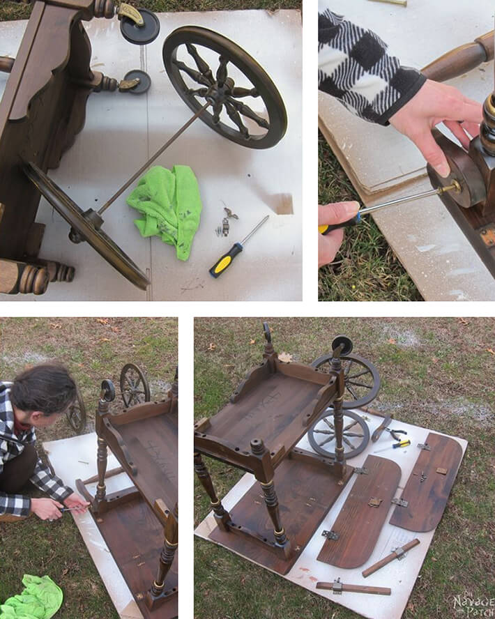 DIY - Tea Cart Makeover