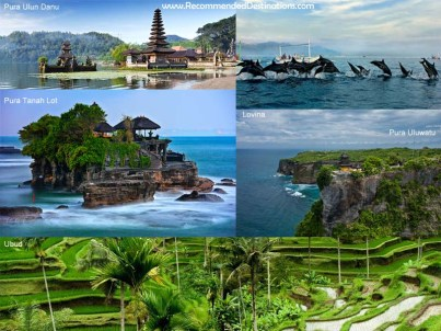 Recommended and Best Places in Bali