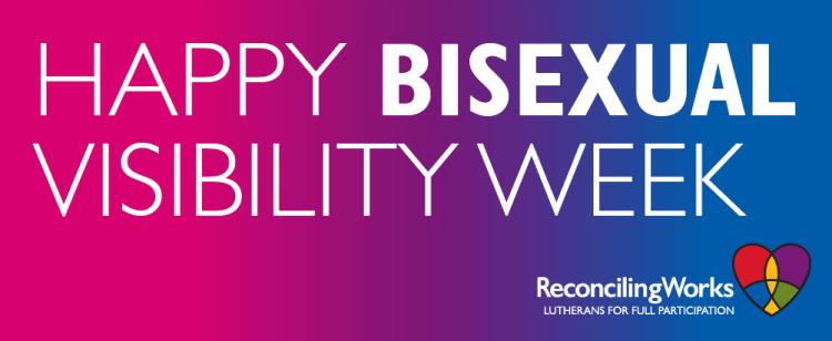 Bisexual Visibility Week