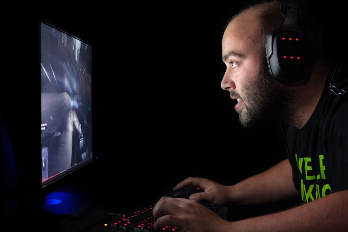 Datorspelande står ivägen