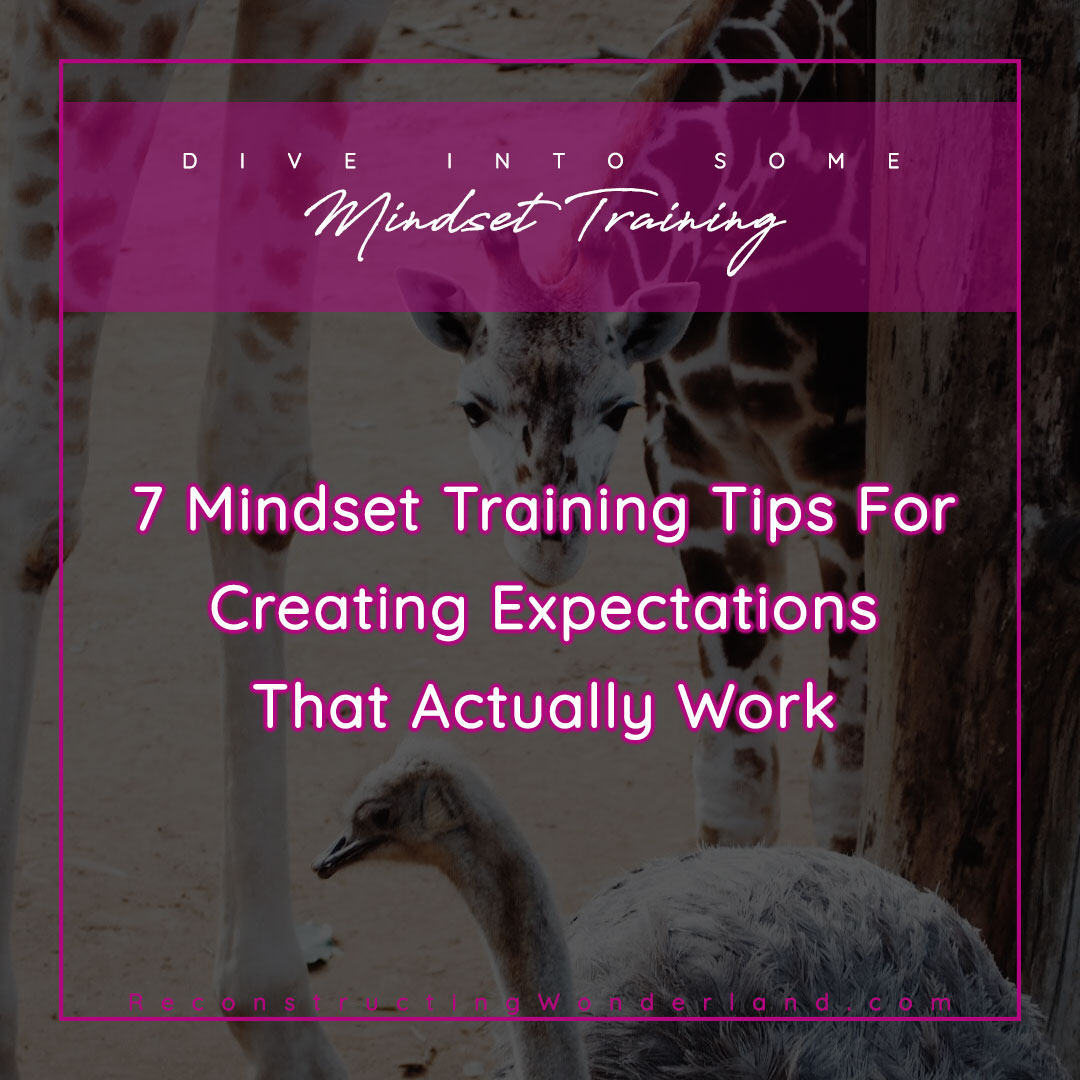 mindset training for expectations that work