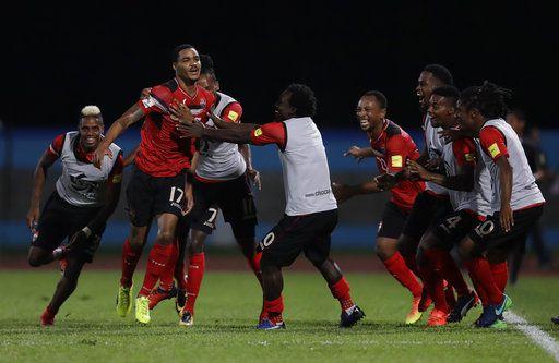 Así festejó Alvin Jones su gol contra Estados Unidos