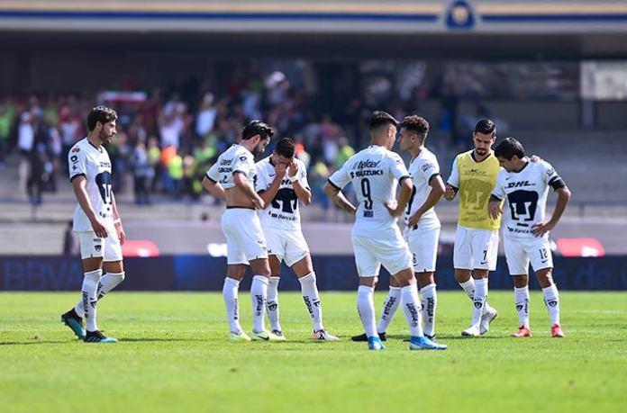 Pumas, after the game in C.U.