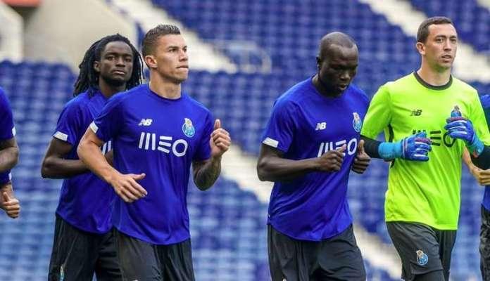 Matheus Uribe in internship with Porto