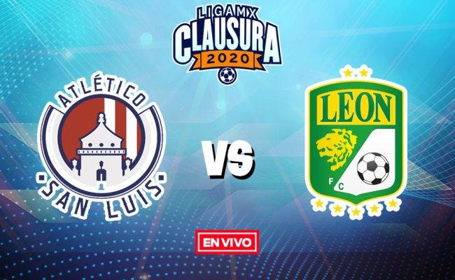 Atlético San Luis Vs León Liga Mx En Vivo Y En Directo