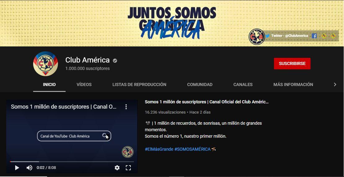 youtube.com/ClubAmerica
