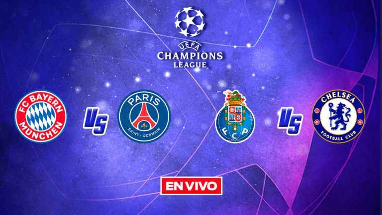 Champions League EN VIVO: Bayern Munich vs PSG Cuartos de ...