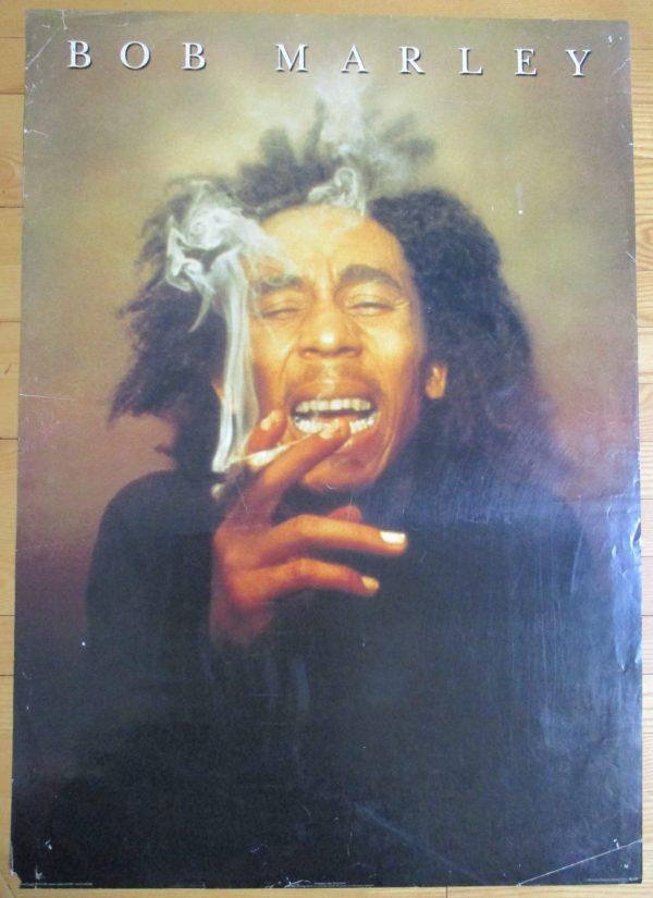 "MARLEY, BOB Vintage Poster ""SMOKING"" 1999 Original 34"" x 24"""