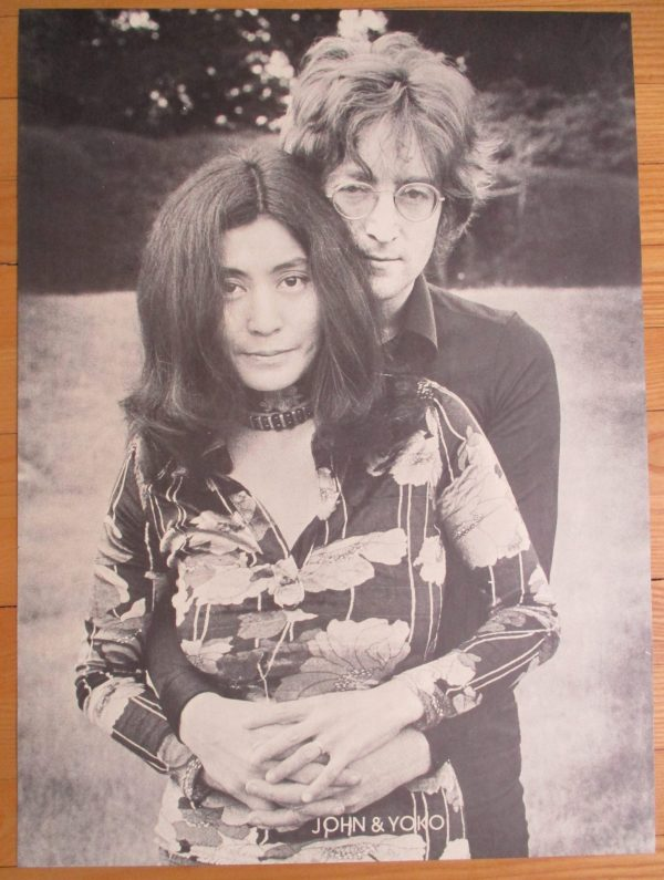 LENNON, JOHN & YOKO ONO Vintage Poster 23″ x 17″