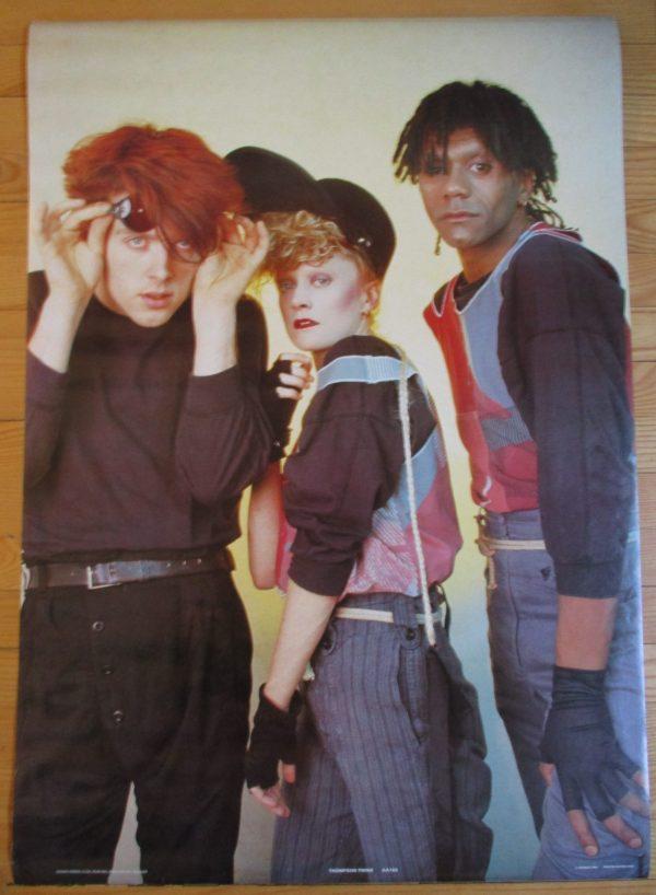 THOMPSON TWINS  Vintage Poster 1984 Original 35″ x 24″ Anabas