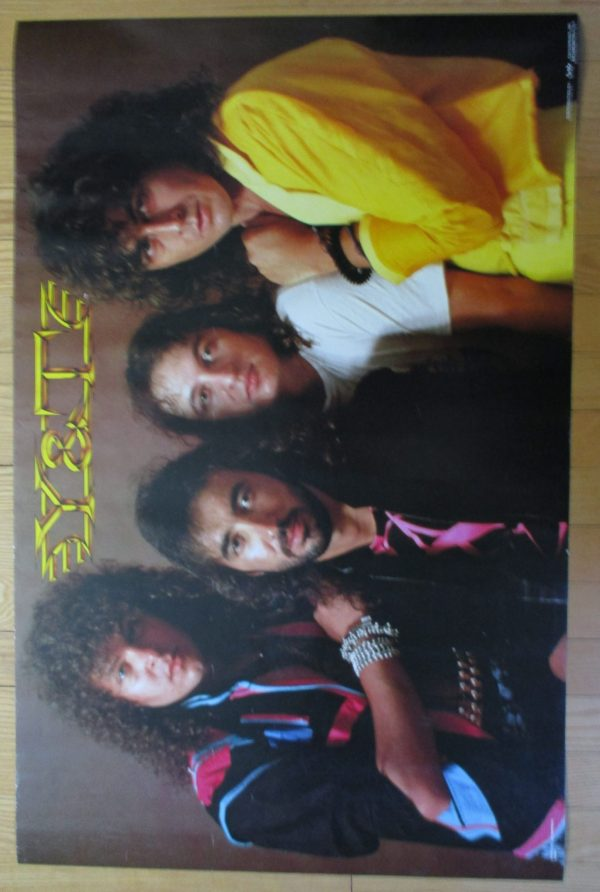 "Y & T Vintage Poster 34"" x 22"" Original Funky"