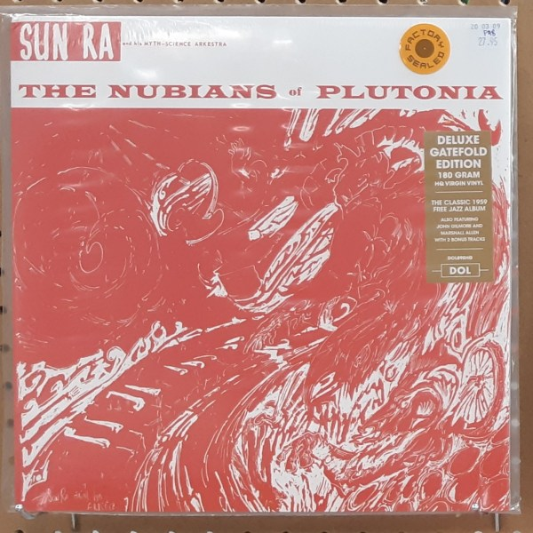 "SUN RA & HIS MYTH SCIENCE ORCHESTRA - ""The Nubians Of Plutonia"" - SEALED"