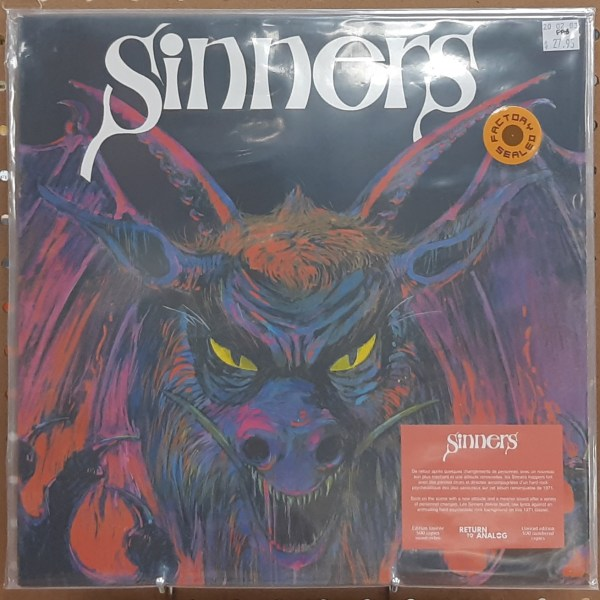 """SINNERS, LES - """"Les Sinners"""" - SEALED"""