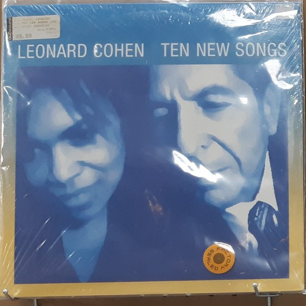 "COHEN, LEONARD - ""Ten New Songs"" - VINTAGE SEALED"