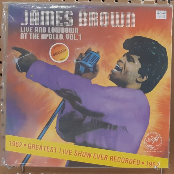"""BROWN, JAMES - """"Live and Lowdown At The Apollo"""" - VINTAGE SEALED"""