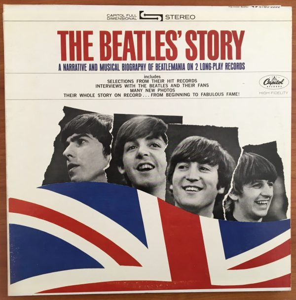 "BEATLES, The - ""THE BEATLES STORY"" Vintage LP x2 (USA Apple Label)"