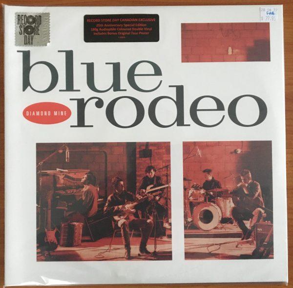 "BLUE RODEO - ""Diamond Mine"" - New LP Sealed"