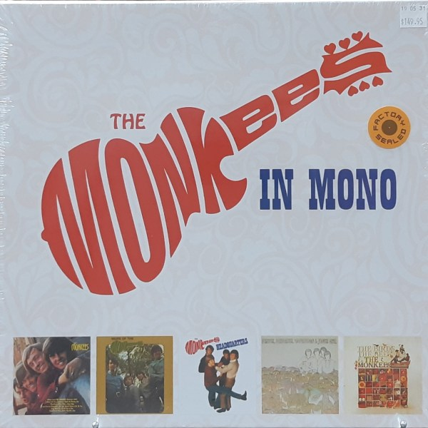 """MONKEES, THE - """"The Monkees In Mono"""" - 5xLP SEALED BOX SET"""
