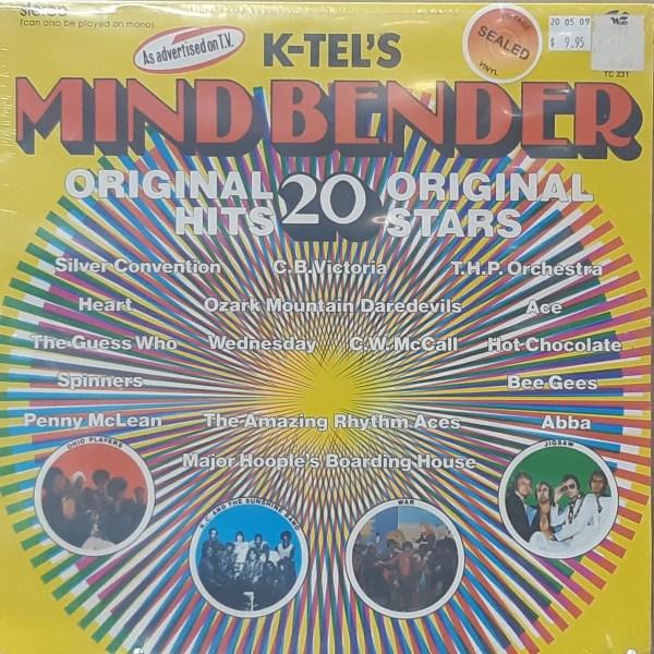 K-TEL MINDBENDER - Various Artists - Vintage LP SEALED