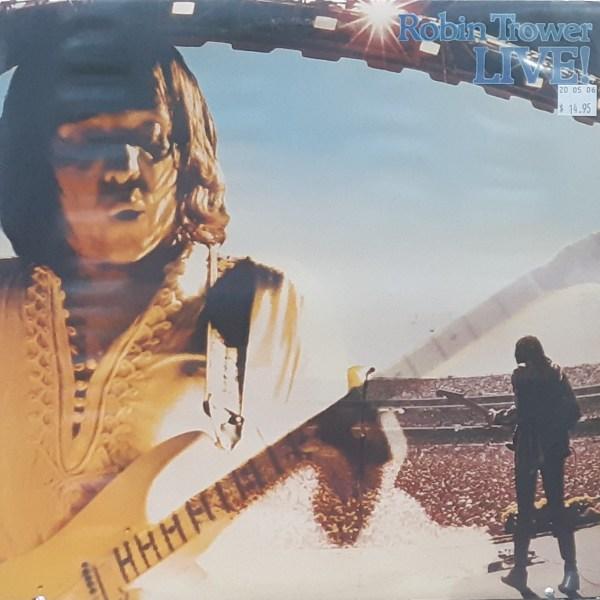 """TROWER, ROBIN - """"Live!"""" - Vintage LP"""