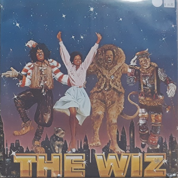 THE WIZ - Soundtrack - Vintage 2xLP