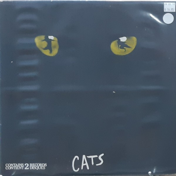 CATS - Complete Original Broadway Cast Recording - Vintage 2xLP