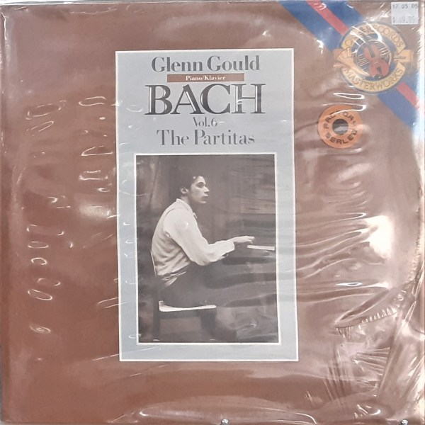 "GOULD, GLENN - ""Bach Vol. 6, The Partitas"" - Vintage SEALED LP"