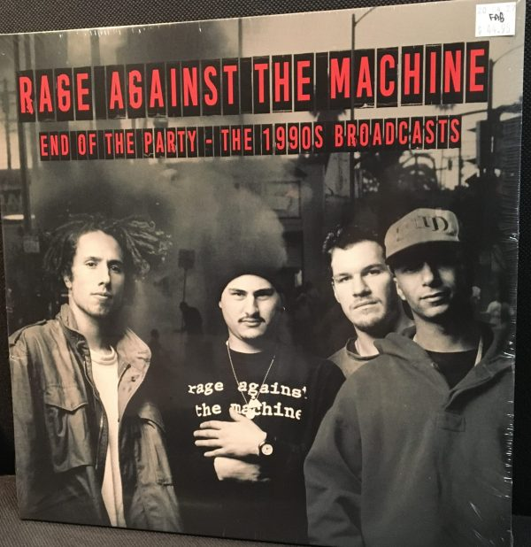 """Rage Against The Machine – """"End Of Party""""  Sealed LP x2"""