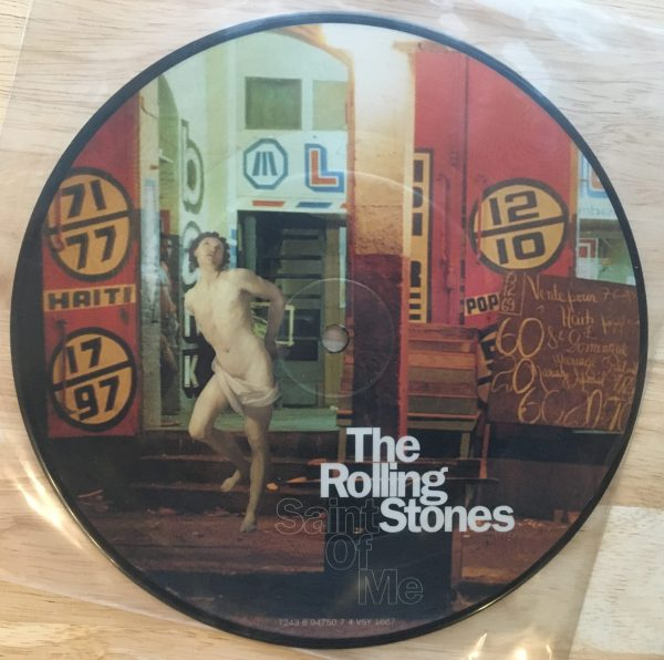 "ROLLING STONES, THE - ""Saint Of Me"" 7"" 45 RPM Picture Disc"