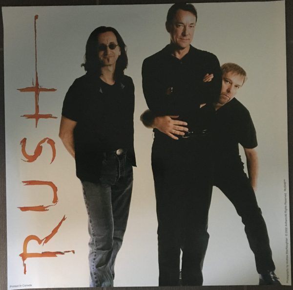 RUSH Vintage Record Store Poster from 2002 RARE!