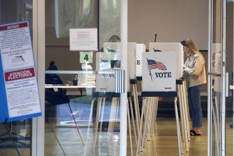 The Recorder - 3 states hold primaries as coronavirus fears grip ...