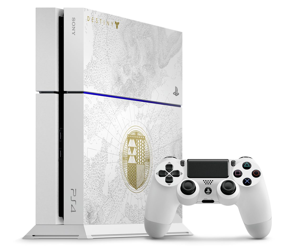 Sony PS4 Limited Edition Destiny Recorderedk