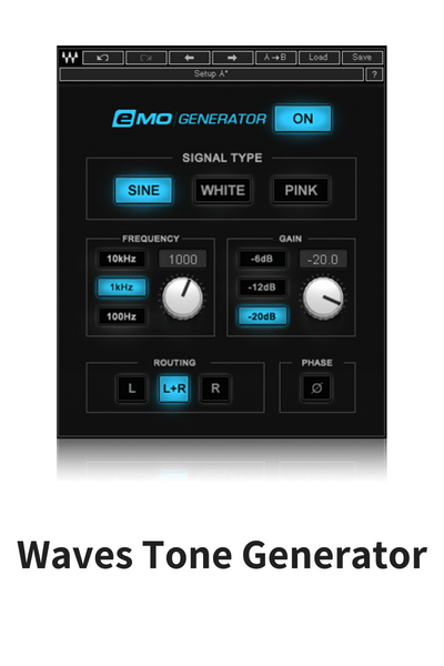 Waves tone generator