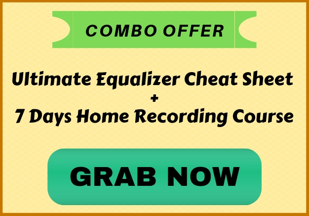 Ultimate equalizer cheat Sheet home recording course