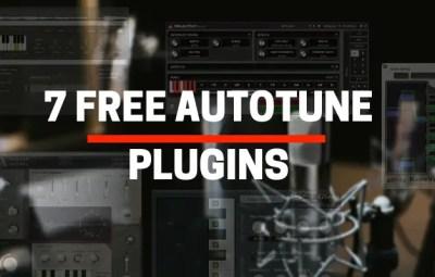 7 Best Free Autotune Software VST Plugins