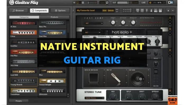 Native Instrument – Guitar Rig