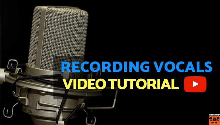 Recording Vocals in the Studio video tutorial