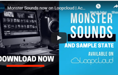 Sample State And Monster Sounds Added In LoopCloud