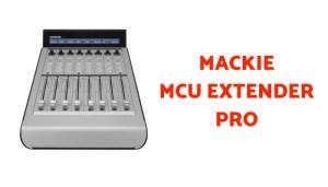 mackie mcu extender pro