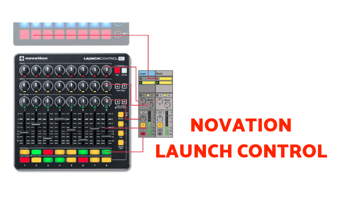 DAW control surface Novation