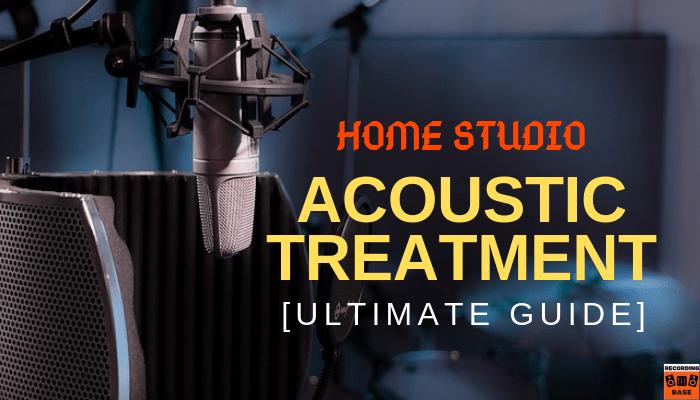 home studio acoustic treatment