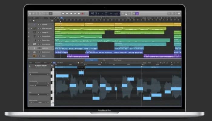 logic pro x music production software