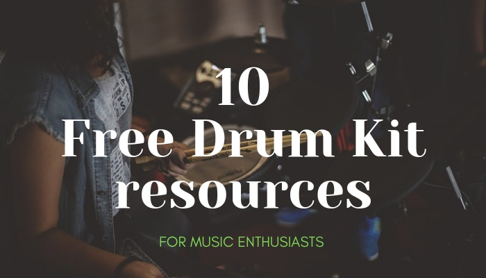 10 Free Drum Kit resources