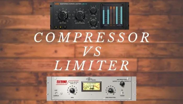 compressor vs limiter