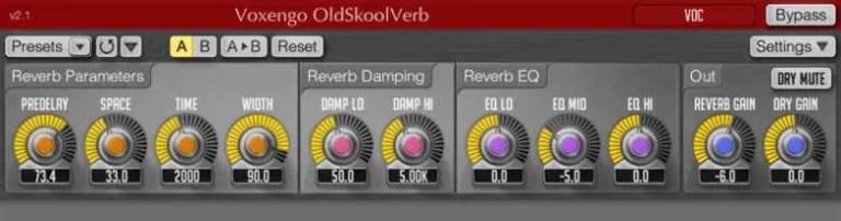 OldSkoolVerb vst plugin