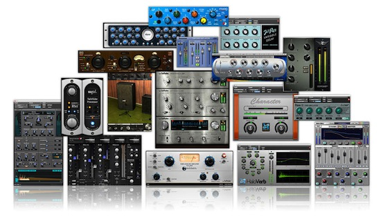 are you using all those plugins recording revolution