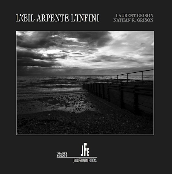 Laurent Grison, Nathan R. Grison, L'Oeil arpente l'infini, Jacques Flament éditions, collection images et mots, 2017, 63 p., 18 euros.
