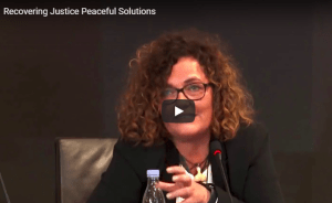 Recovering Justice Peaceful Solutions