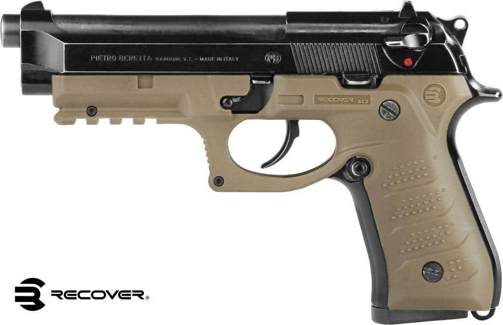 R/écup/érer BC2 Beretta Grip and Rail System pour Beretta 92Fs M9 poign/ées et Rail Picatinny 98