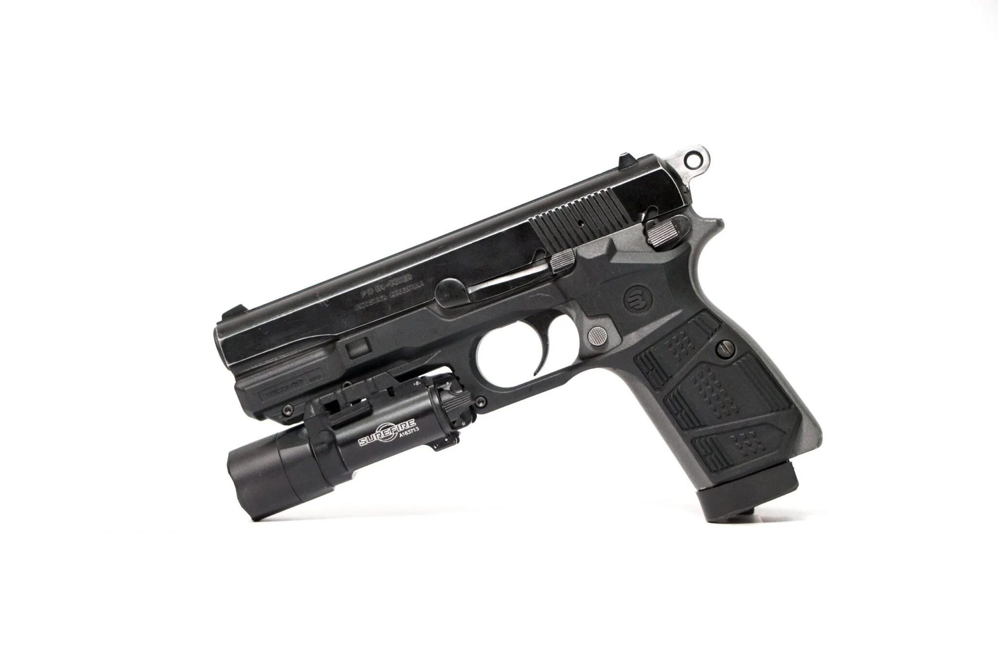 Browning Hipower Hi Power-Poignées//Grip Set-noyer Set 2AS12